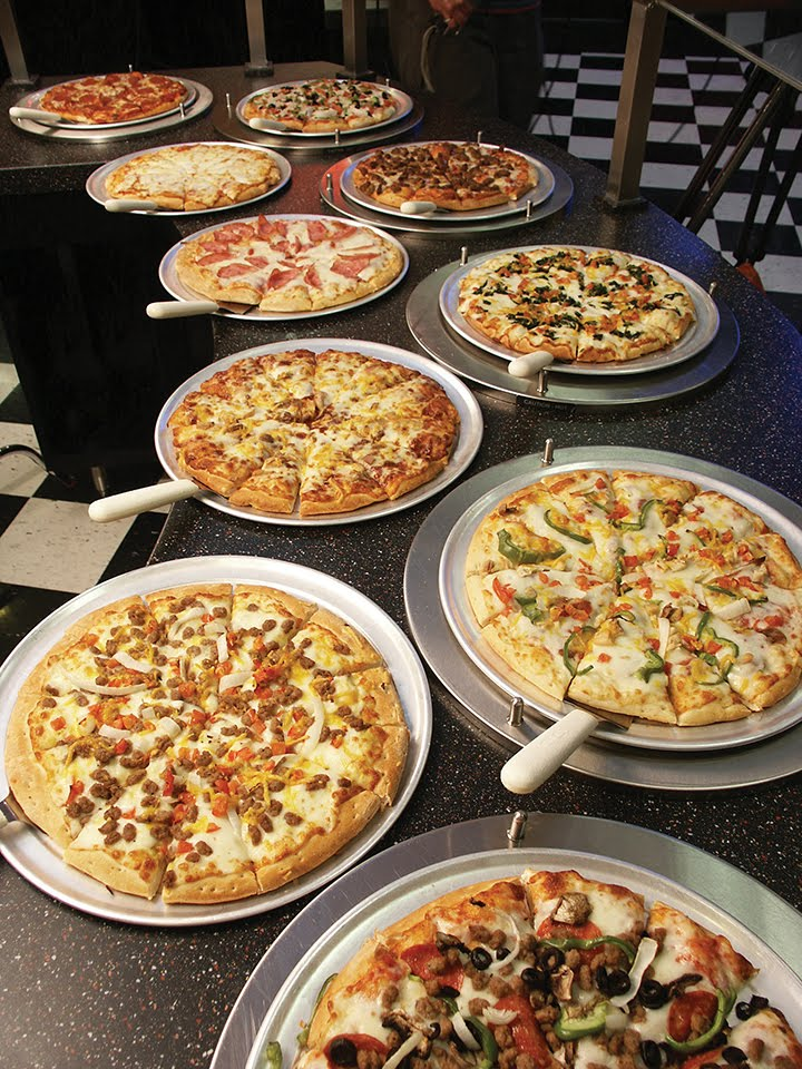 Image of Pizzas all types of variety