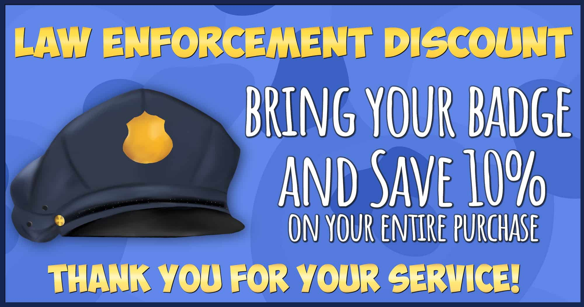 Law Enforcement Discount